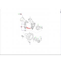 Roulement de roue Transit