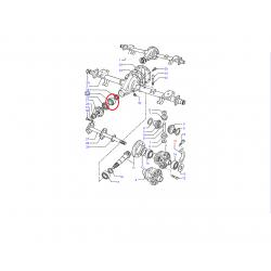 ROULEMENT A ROULEAUX CONIQUES PIGNON ATTAQUE DIFFERENTIEL FORD TRANSIT